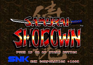 SSamurai Shodown